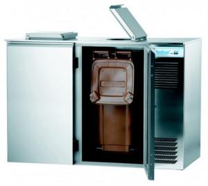 Schładzarka gastronomiczna do odpadów 2x240L