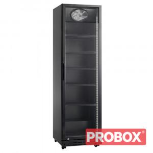 Szafa chłodnicza przeszklona 394L - Resto Quality, RQ429-BLACK (SD429)