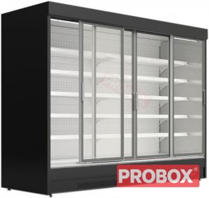 Regał chłodniczy z drzwiami przesuwnymi Mawi, MODUS SGD 0.9 3750x904x1990mm