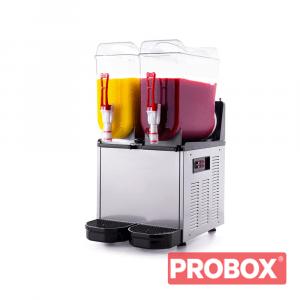 Granitor, urządzenie do napojów lodowych slush shake 2X12L - SLUSH24.I