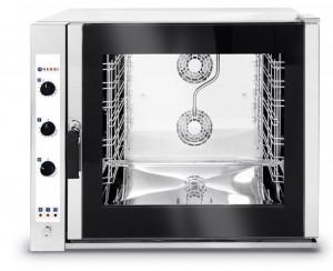 Piec konwekcyjno - parowy 6x GN 2/1, elektryczny - sterowanie manualne