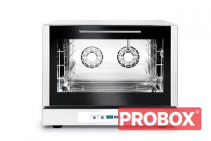 Gastronomiczny Piec piekarniczy, konwekcyjny z nawilżaniem 4x600x400mm - elektryczny, sterowanie elektroniczne, programowalnytrójfazowy