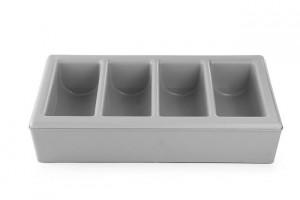 Pojemnik na sztućce GN 1/1 z podstawą 4-częściowy