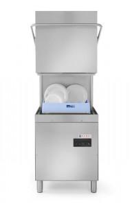 Zmywarka kapturowa do naczyń 50x50 - sterowanie manualne z dozownikiem detergentu