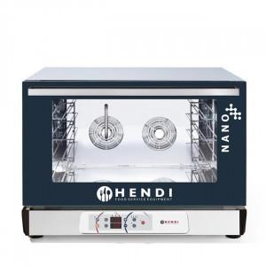 Piec profesjonalny piekarniczy konwekcyjny z nawilżaniem Hendi Nano – 4x 600x400 mm