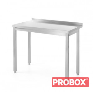 Stół roboczy przyścienny - skręcany 600x600x(H)850