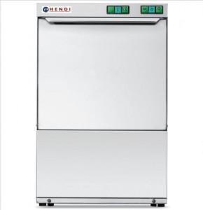 Zmywarka do naczyń 50x50 400V - sterowanie manualne z dozownikiem detergentu