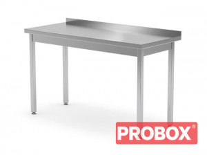 Stół przyścienny bez półki - spawany, o wym. 1000x700x850 mm