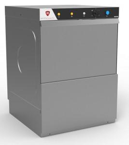 Zmywarka gastronomiczna uniwersalna | RQ 500 400V DP | pompa spustowa | 400V | kosz 50x50cm | 3 cykle mycia