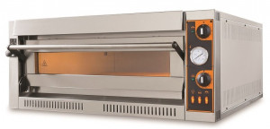 Piec do pizzy elektryczny   jednokomorowy   4x36   TecPro4