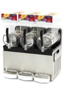 Granitor | Urządzenie do napojów lodowych slush shake | 3 zbiorniki 3x15 litrów | MS3x15