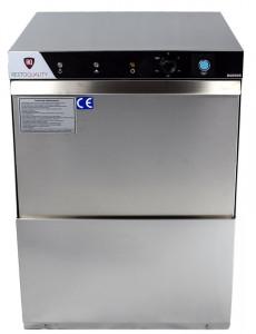 Zmywarka gastronomiczna uniwersalna | RQ500DP 400V | pompa spustowa | 400V | kosz 50x50cm | 3 cykle mycia