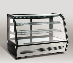 Witryna chłodnicza | cukiernicza | nablatowa RTW160 | LED | 160l