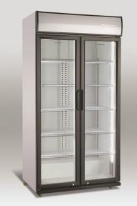 Szafa chłodnicza przeszklona SD880H | 623l