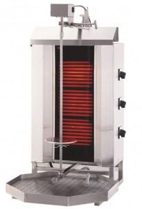 Gyros   opiekacz elektryczny do kebaba   3 palniki   wsad 40kg KLG230
