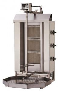 Gyros | opiekacz gazowy do kebaba | 3 palniki | wsad 40kg KLG 220
