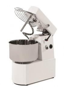 Miesiarka gastronomiczna spiralna do ciasta z podnoszonym hakiem i stałą dzieżą RTF 20 litrów 400V
