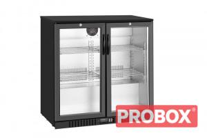 Gastronomiczna szafa chłodnicza, chłodziarka podblatowa LG-208HC | 205l