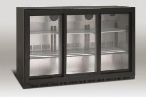 Barowa szafa chłodnicza | chłodziarka podblatowa | SC 309SL 335l drzwi przesuwne