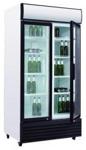 Szafa chłodnicza przeszklona na butelki SD 1001H 1000l
