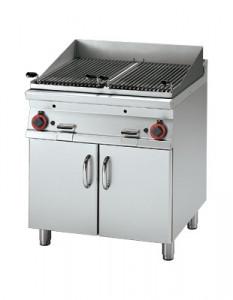Grill gastronomiczny lawowy gazowy CW - 78 G