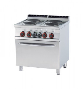Kuchnia elektryczna zpiekarnikiem CFV4 - 78 ET