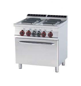 Kuchnia elektryczna zpiekarnikiem CFQ4 - 78 ET