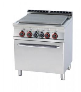 Kuchnia żeliwna elektr. zpiekarnikiem TPFV - 78 ET
