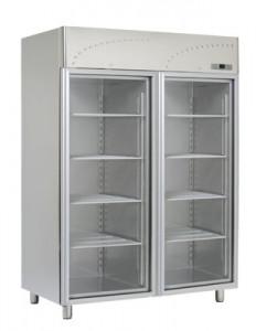 Szafa chłodnicza przeszklona GN 2/1 LS - 140 SV