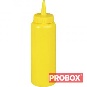 Dyspenser do sosów żółty 0,35 l