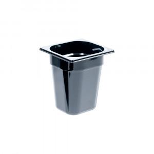 Pojemnik GN 1/6 200 czarny poliwęglan