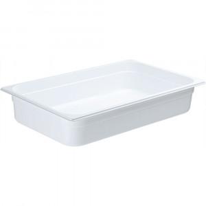 Pojemnik GN 1/1 100 biały poliwęglan