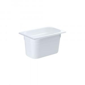 Pojemnik GN 1/4 150 biały poliwęglan