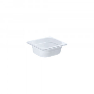 Pojemnik GN 1/6 65 biały poliwęglan