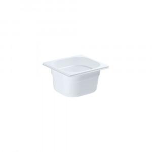 Pojemnik GN 1/6 100 biały poliwęglan