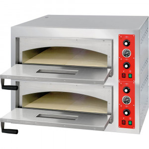 Piec do pizzy gastronomiczny 2x4 fi 320 mm