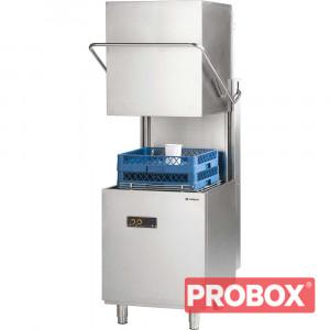 Zmywarko wyparzarka kapturowa 500x500, 6,8 kW z dozownikiem płynu myjącego
