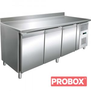 Stół chłodniczy, 3 drzwiowy, 600X400, 653 l,