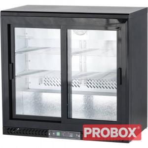 Chłodziarka gastronomiczna do butelek 202l drzwi przesuwane Stalgast 882161