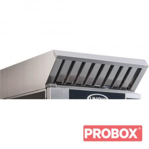 Okap gastronomiczny UNOX z kondensatorem pary do pieców BakerTop EL 600x400