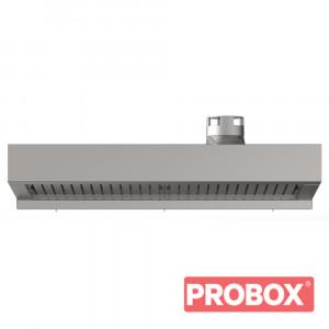 Okap z kondenserem pary BAKERLUX SHOP.Pro 460x330