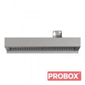 Okap gastronomiczny z kondenserem pary BAKERLUX SHOP.Pro 600x400