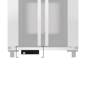 Pojemnik na wodę montowany pod komorę wzrostową BAKERLUX SHOP.Pro 460x330