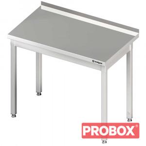 Stół przyścienny bez półki 500x700x850 mm skręcany