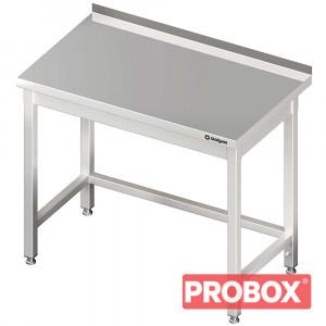 Stół przyścienny bez półki 400x600x850 mm spawany