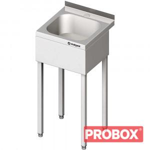 Umywalka INOX 400x410x850 mm