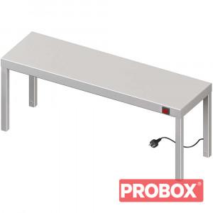Nadstawka grzewcza na stół pojedyncza 1100x300x400 mm