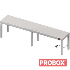 Nadstawka grzewcza na stół pojedyncza 1700x400x400 mm
