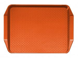 Taca do barów szybkiej obsługi 30x41 cm pomarańcz