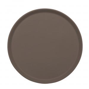 Taca antypoślizowa Treadlite śr. 35,5 cm brązowa